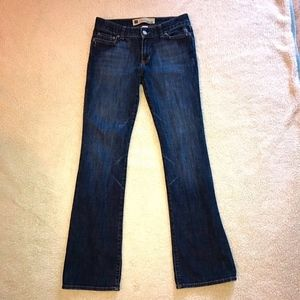 Gap Low Rise Curvy Boot Jeans